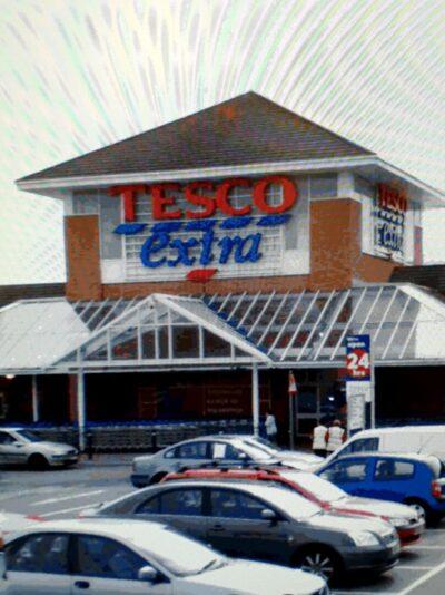 Tesco's Inverness car park